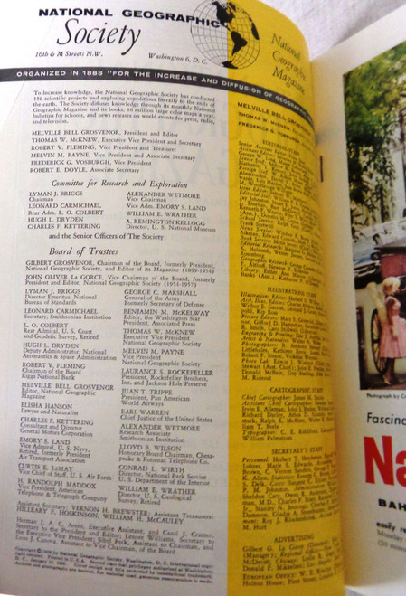 National Geographic Magazine Vol. 065 No. 1 January 1959