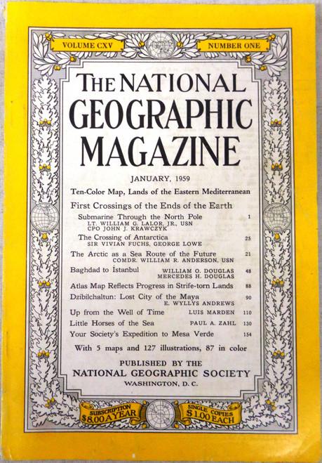 National Geographic Magazine Vol. 065 No. 1 January 1959