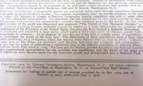 National Geographic Magazine Vol. 036 No. 6 December 1919