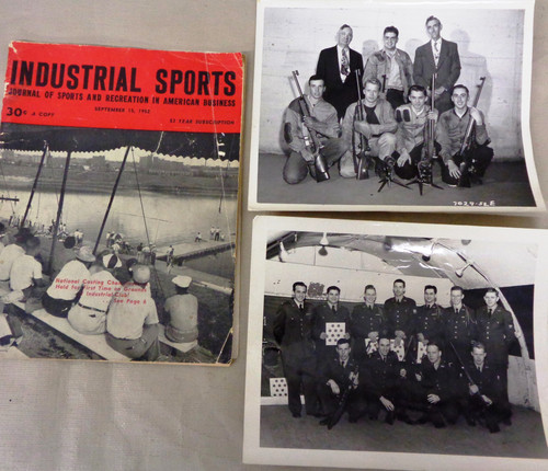 Industrial Sports Journal Vol. 13 No. 9 September 1952 with Two Original Photos