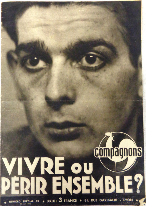 French WWII Compagnons Magazine No. 85
