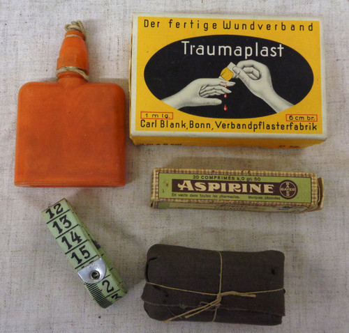 German WWII First Aid and Personal Gear
