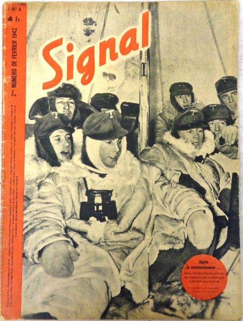 French Signal Magazine No. 4 1942