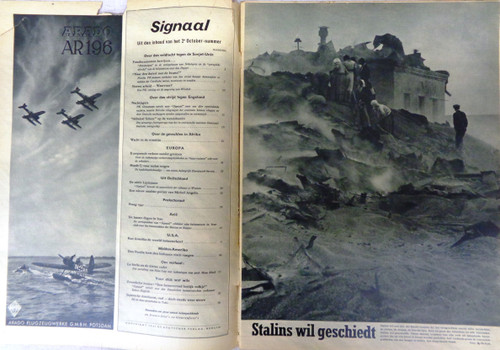 Dutch Signaal Magazine No. 20 1941