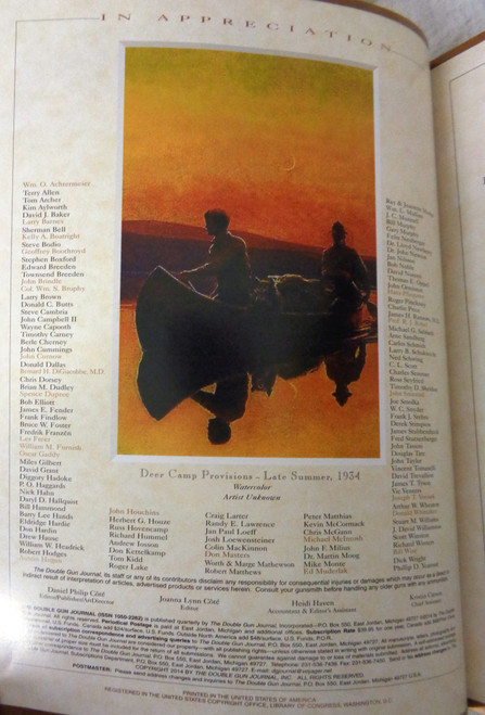 The Double Gun Journal Vol. 25 Issue 2 Summer 2014