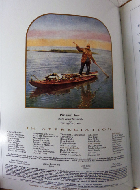 The Double Gun Journal Vol. 08 Issue 4 Winter 1997