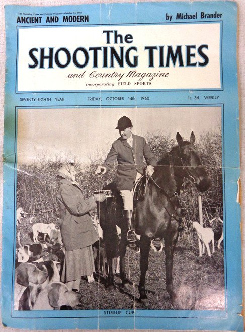 The Shooting Times and Country Magazine No. 4068 October 1960