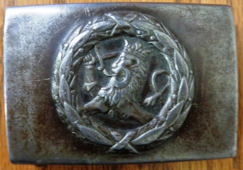 Netherlands WWI Belt Buckle