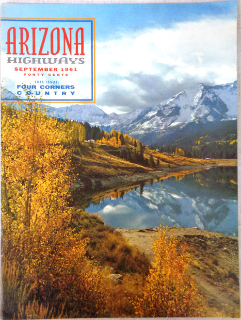 Arizona Highways Vol. 37 No. 9 September 1961