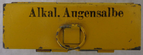 German WWII Alkaline Anesthetic Tin