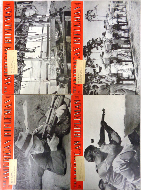 The American Rifleman Magazine 1941 - 12 Issues