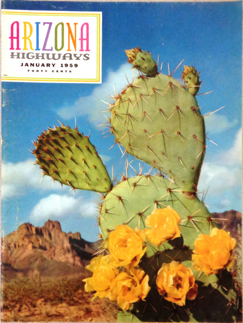 Arizona Highways Vol. 35 No. 1 January 1959