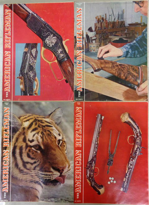 The American Rifleman Magazine 1965 - 12 Issues