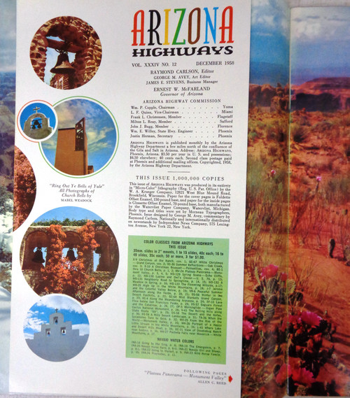 Arizona Highways Vol. 34 No. 12 December 1958