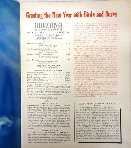 Arizona Highways Vol. 34 No. 1 January 1958