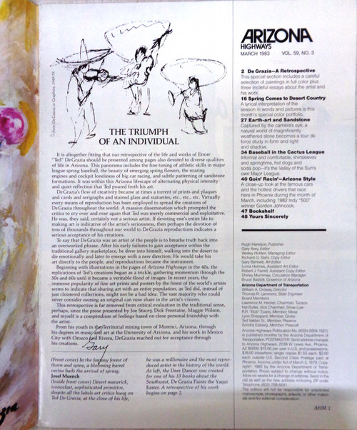 Arizona Highways Vol. 59 No. 3 March 1983