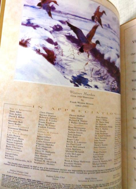 The Double Gun Journal Vol. 19 Issue 4 Winter 2008