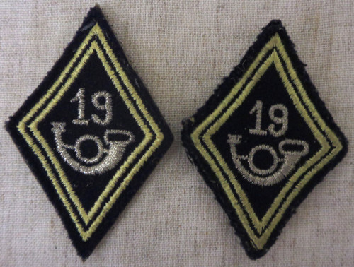 19th Division / Regiment Drum & Bugle Corps Sleeve Patches
