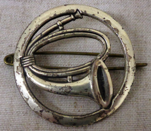 French Drum & Bugle Corps Hat Badge