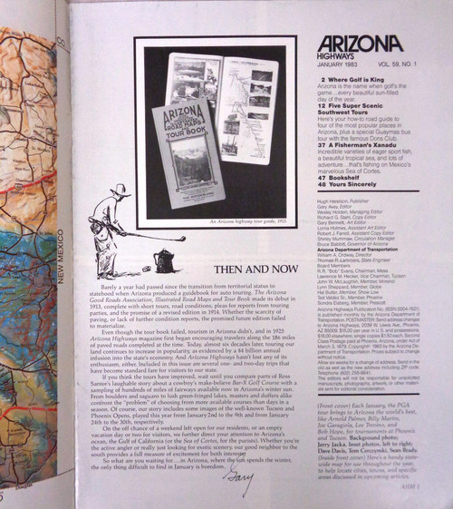 Arizona Highways Vol. 59 No. 1 January 1983