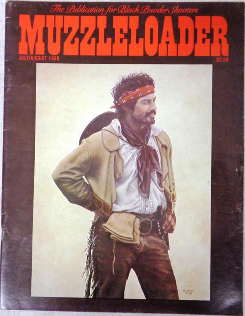 Muzzleloader Vol. 13 No. 3 July/August 1986