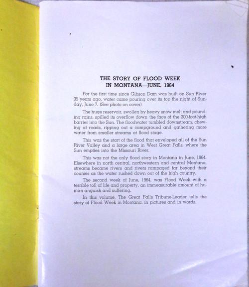 Montana Flood 1964 Published by Great Falls Tribune-Leader