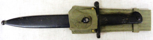 Spanish Model 1941 Mauser Bolo Bayonet with Scabbard and Frog