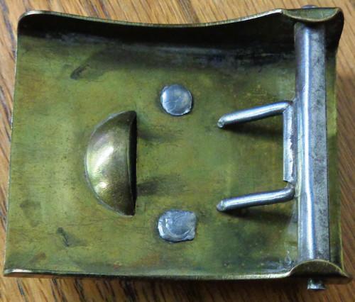 German WWII SA / NSKK Brass Belt Buckle
