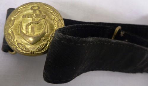 Russian WWII Dress Waist Belt and Hangers