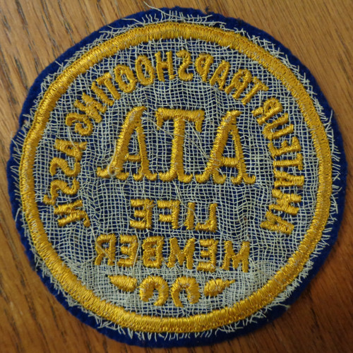 Amateur Trapshooting Association (ATA) Life Member Patch