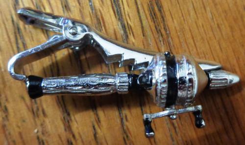 Anson Fishing Rod & Reel Tie Clip