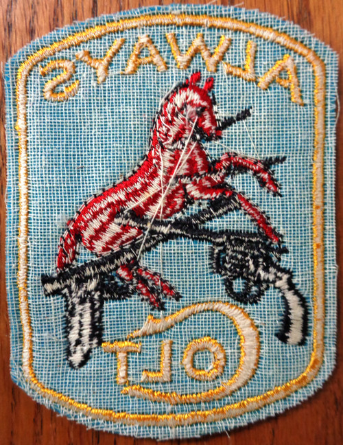 Always Colt Patch - Turquoise