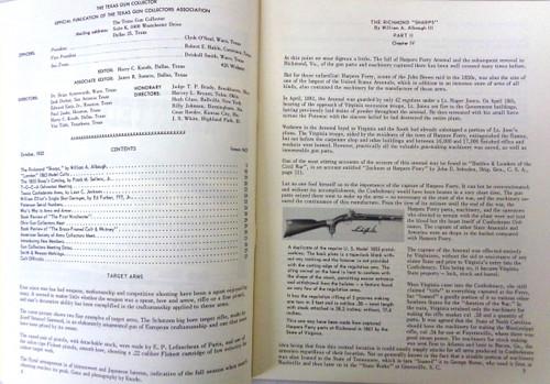 The Texas Gun Collector Issue No. 63 October 1955