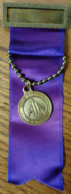 Amateur Trapshooting Association Grand American Medal 1969