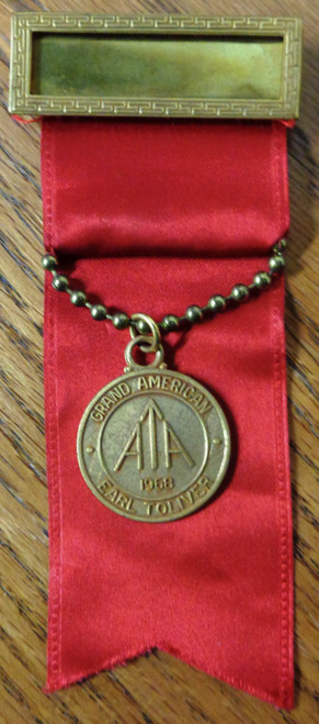Amateur Trapshooting Assoc. Grand American Medal 1968