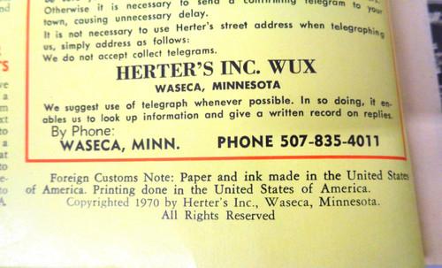 Herter's Catalog No. 81 - 1971