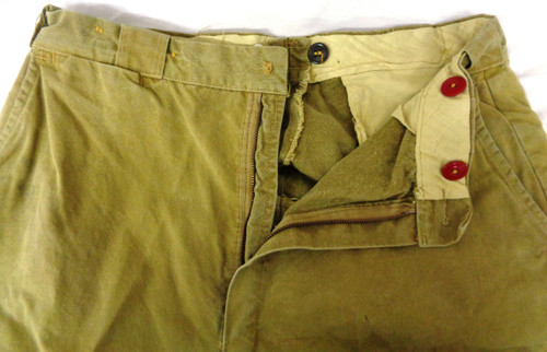 Reinforced Canvas Brush Pants