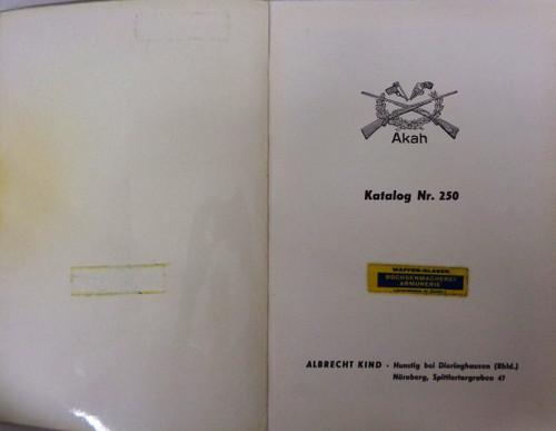 Akah Katalog Nr. 250