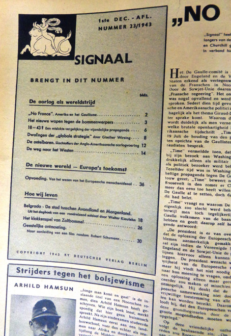 Dutch Signaal Magazine No. 23 1943