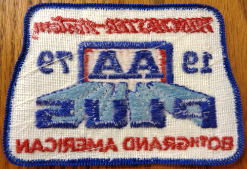 Winchester-Western 80th Grand American Patch