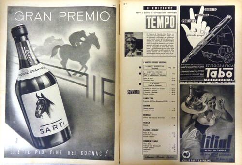 Italian Tempo No. 118 - 1941