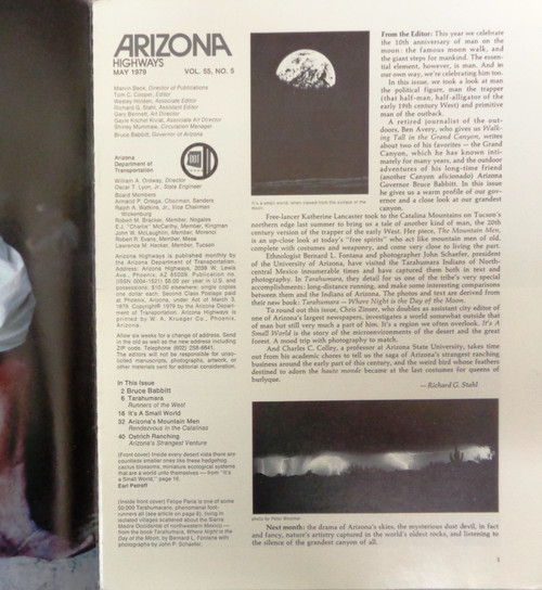 Arizona Highways Vol. 55 No. 5 May 1979