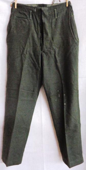 USMC WWII Winter Service Dress Class A Wool Pants
