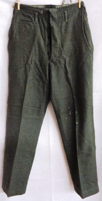USMC WWII Winter Service Dress Class A Wool Pants