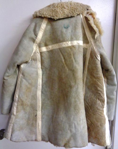 Sherpa Shearling Coat made in Paris, France, circa 1940's