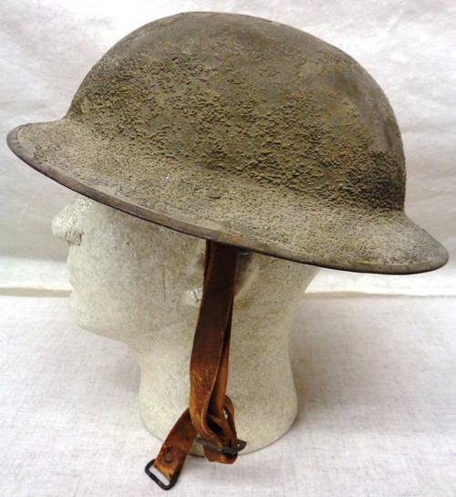 U.S. WWI Model 1917 Steel Helmet with Liner and Chin Strap
