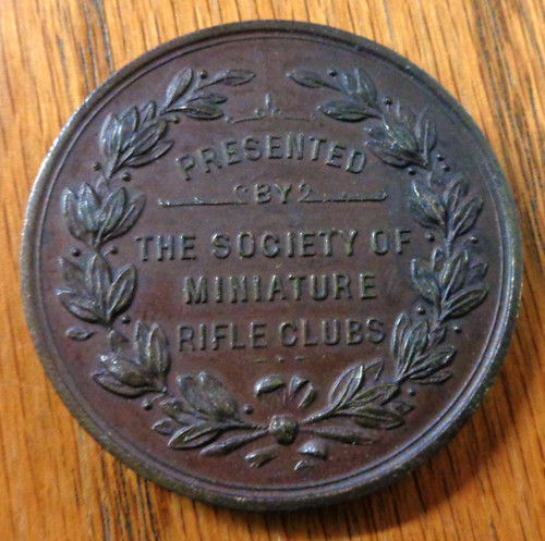 "British Miniature Rifle Club ""The Bell Medal"""