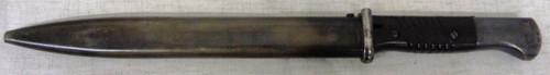 German WWII M1884/98 3rd Model Bayonet & Scabbard