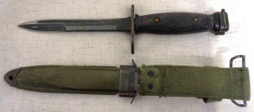 U.S. M7 Imperial Bayonet w/USM8A1 PWH Scabbard