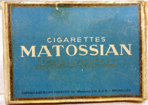 Matossian Cigarettes Egyptiennes